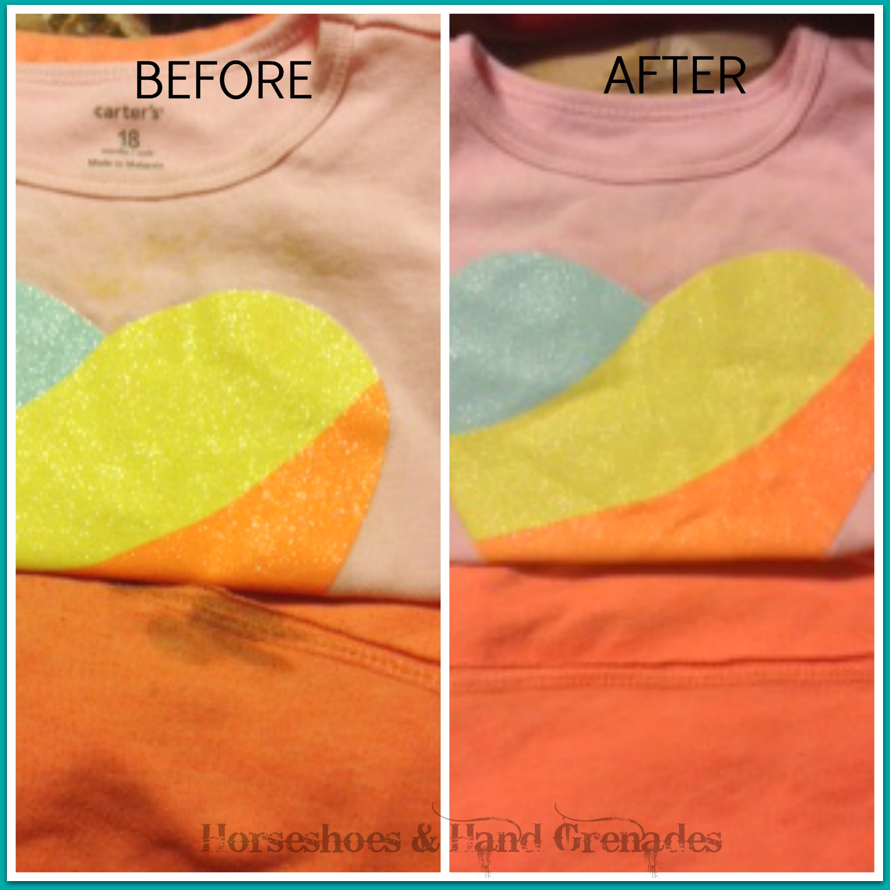 how to get blood stain out of colored shirt