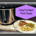 Easy Crockpot Pork Chops