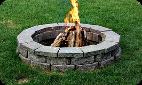 Back Yard Campfire