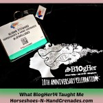 What #BlogHer14 Taught Me