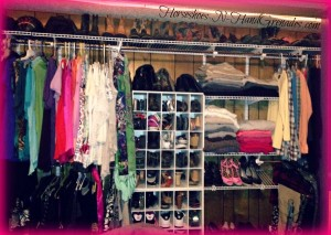 DIY Closet Makeover After