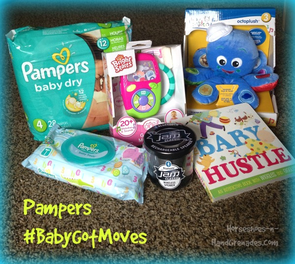 Pampers#BabyGotMoves