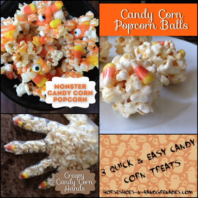 3 Easy Candy Corn Treats