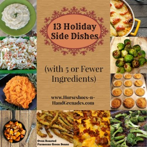 13 Holiday Side Dishes