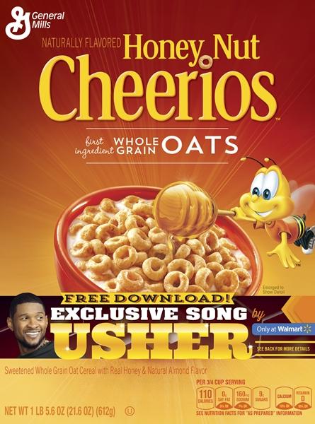 Honey Nut Cheerios and Usher