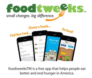 foodtweeks™ – Cut Calories and Fight Hunger