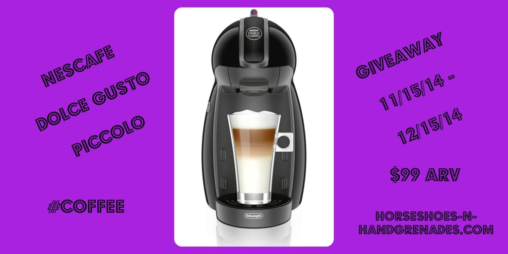 Win a NESCAFÉ Dolce Gusto Piccolo Coffee Brewer – Value $99!