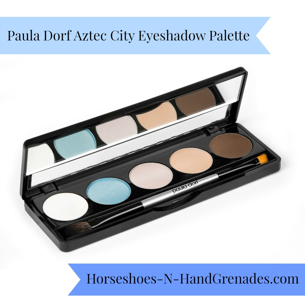 Paula Dorf Aztec City Eyeshadow PaletteDorf Aztec City Eye Pallette