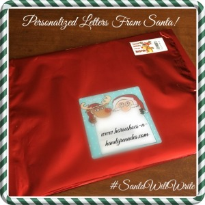 Personalized Letter From Santa!!