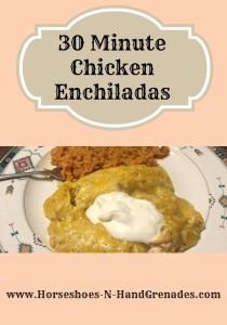 30-minute-chicken-enchiladas