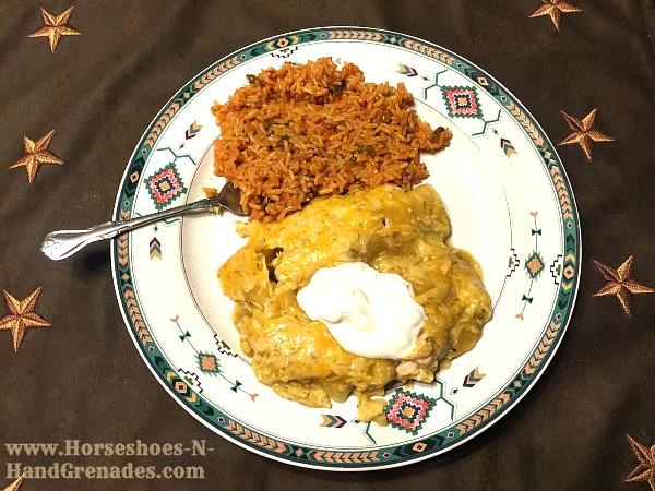 Cooked-Chicken-enchiladas
