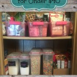 Get Organized – Pantry Makeover for Under $40