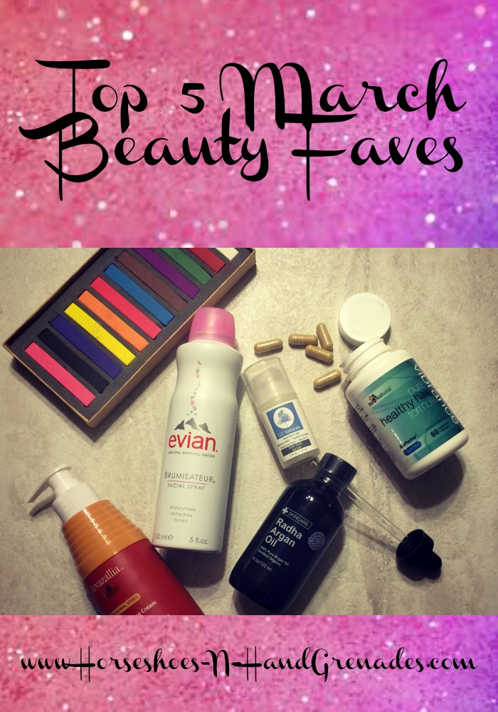 Top 5 Beauty Faves
