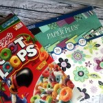 Cereal Box Up-cycle: DIY Magazine Holder