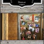 DIY Rustic Photo Display