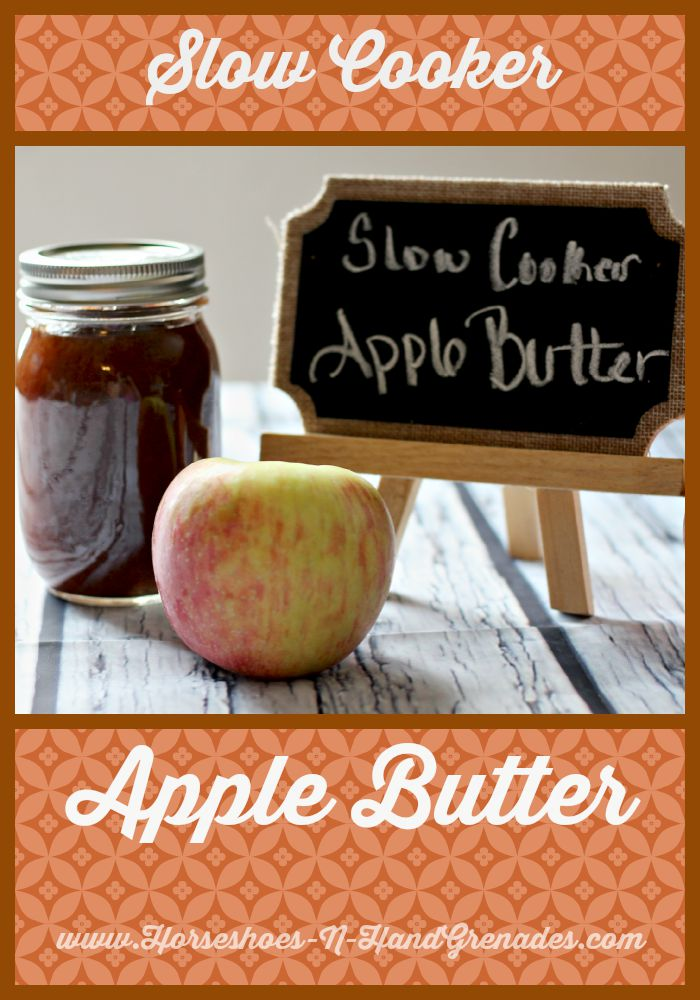 SlowCookerAppleButter