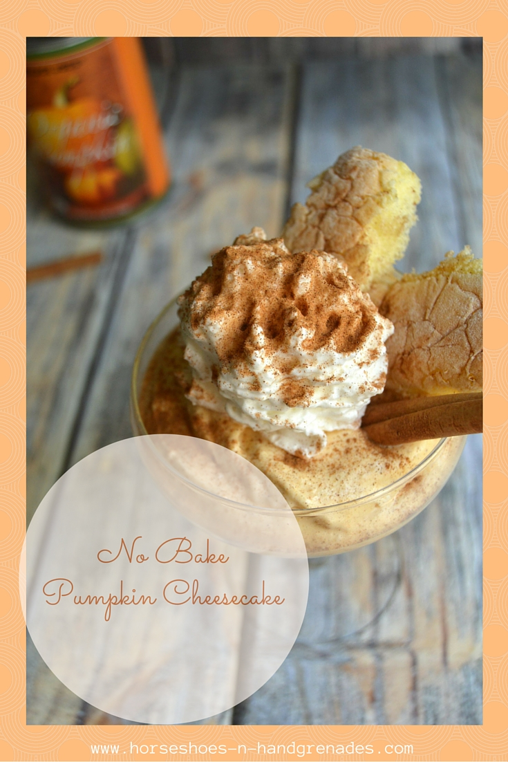No BakePumpkin Cheesecake