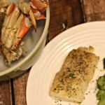 15 Minute Parmesan Baked Cod