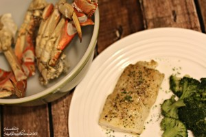15 Minute Parmesan Baked Cod