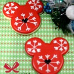 Mickey Mouse Snowflake Sugar Cookies