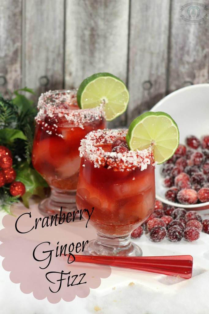 Cranberry Fizz Cocktail Recipe: Cranberry Ginger Fizz Cocktail ⋆ Horseshoes & Hand Grenades