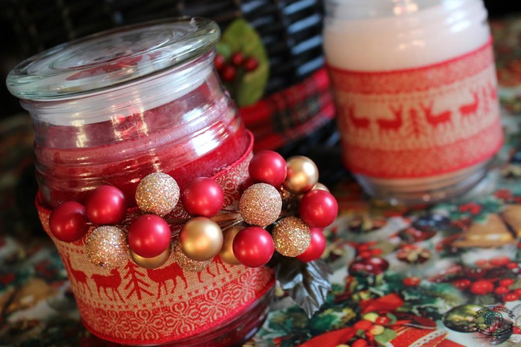 Easy Christmas Candle