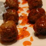 Easy Slow Cooker Sweet & Sour Meatballs