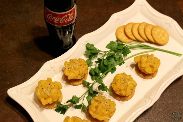 Mac & Cheese Bites Coke Ritz