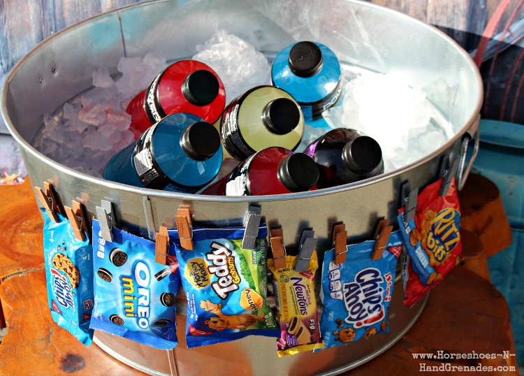Portable Snack Station