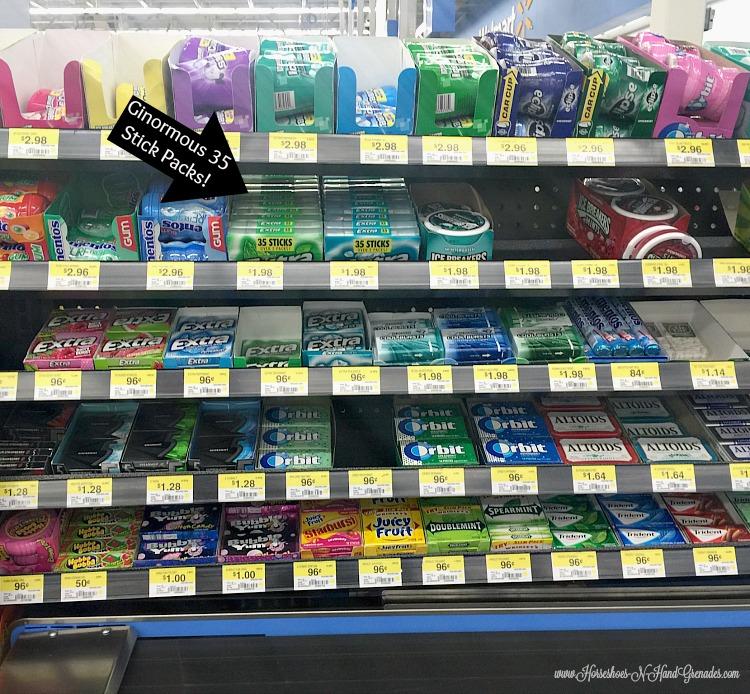Extra Gum at Walmart