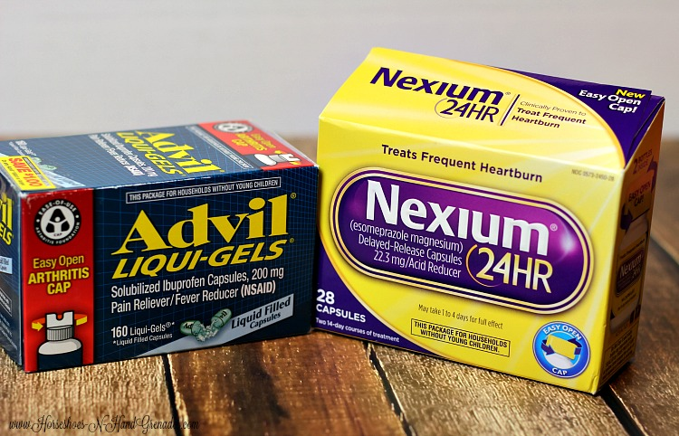 Advil Nexium EZ Open Cap