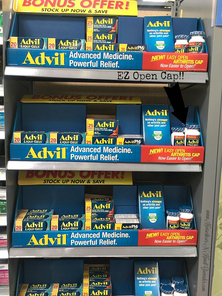 Advil at Walmart