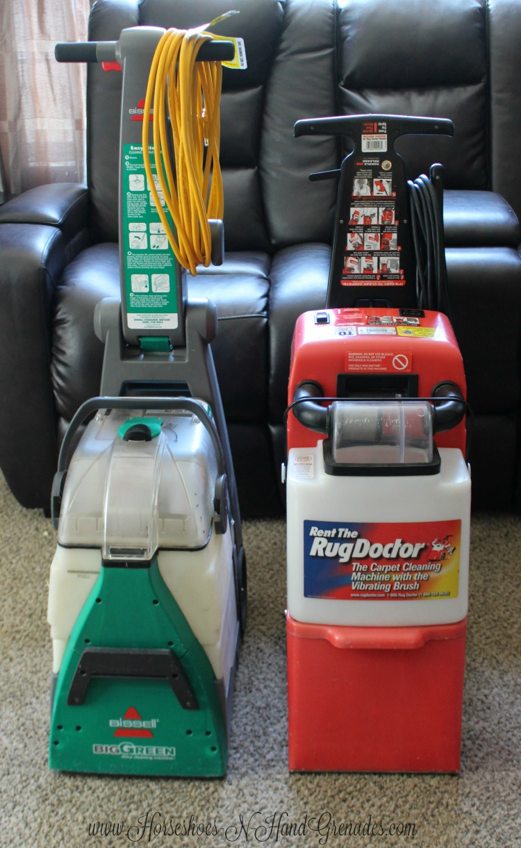 BISSELL Big Green or Rug Doctor
