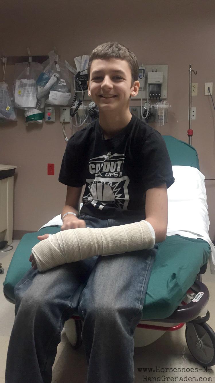Eli's Broken Arm