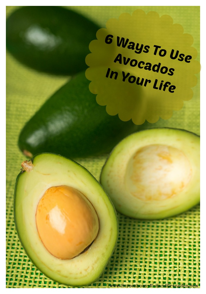 6 Ways to use Avocado