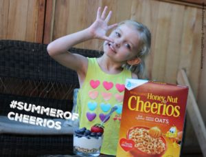 Fruit & Yogurt Parfaits and Summer Fun