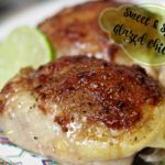 Four Ingredient Sweet & Spicy Glazed Chicken