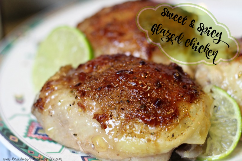 Sweet & Spicy Glazed Chicken