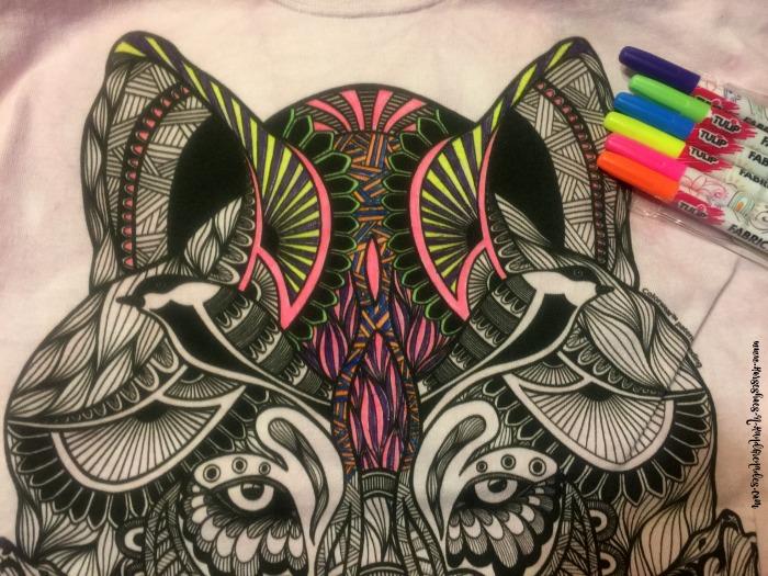 Wolf ColorWear TShirt