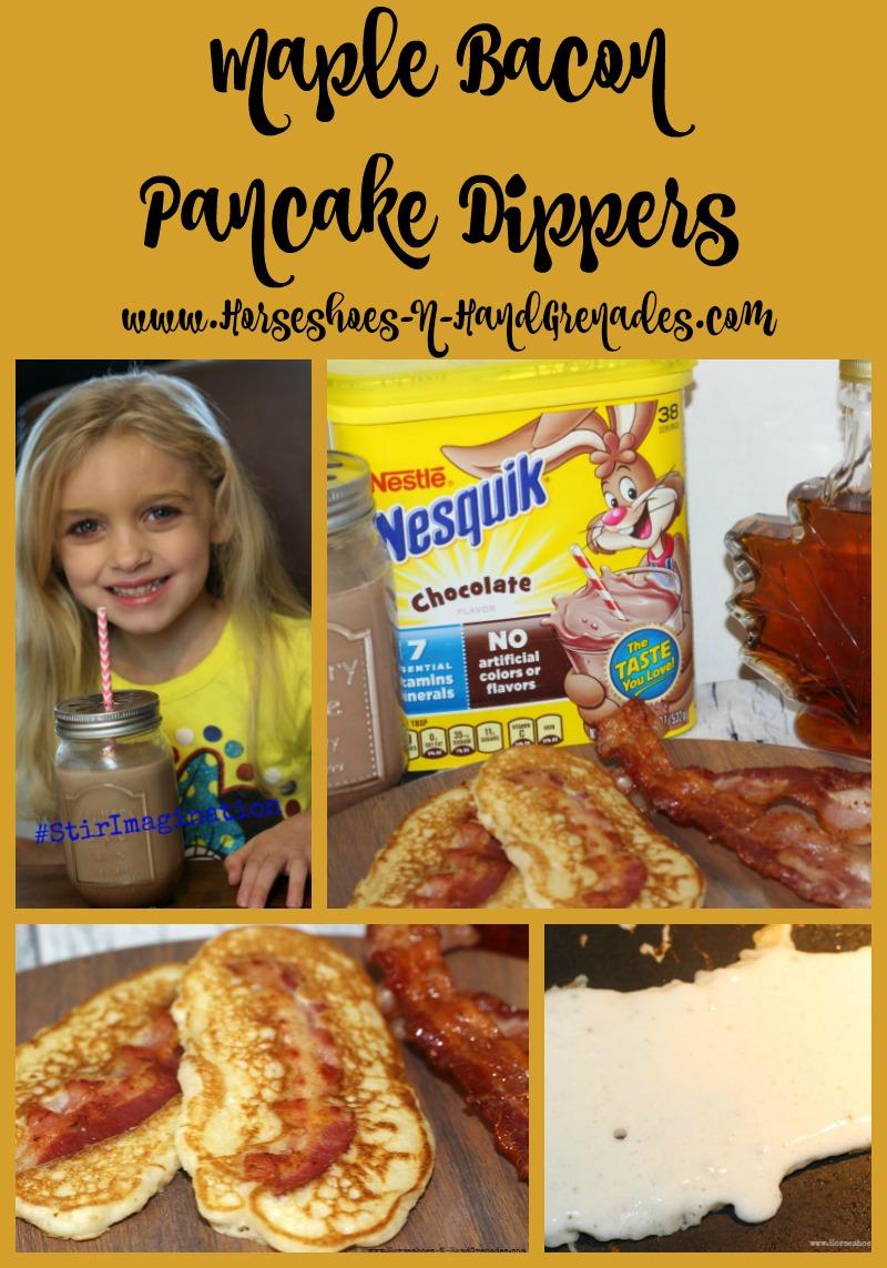 Maple Bacon Pancake Dippers Pinterest