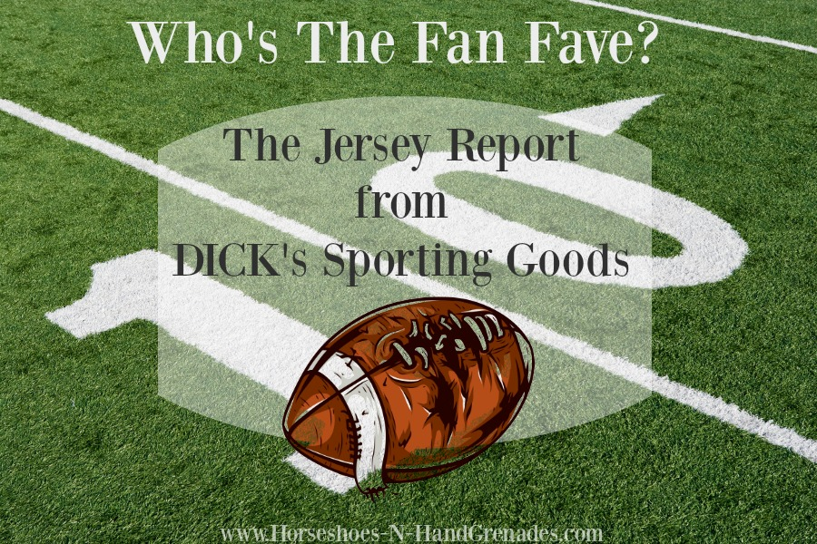 DICK's Sporting Goods Jersey Report