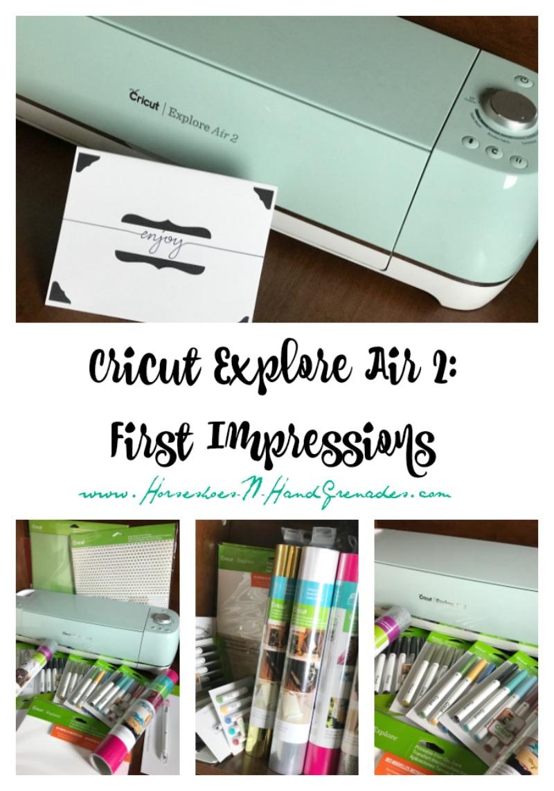 Cricut Explore Air 2 First Impressions