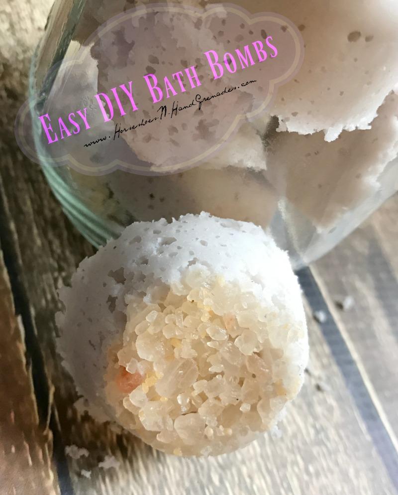 DIY Bath Bombs FB IG