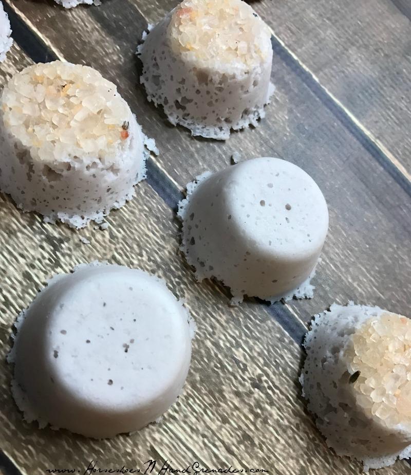 DIY Lavender Bath Bombs