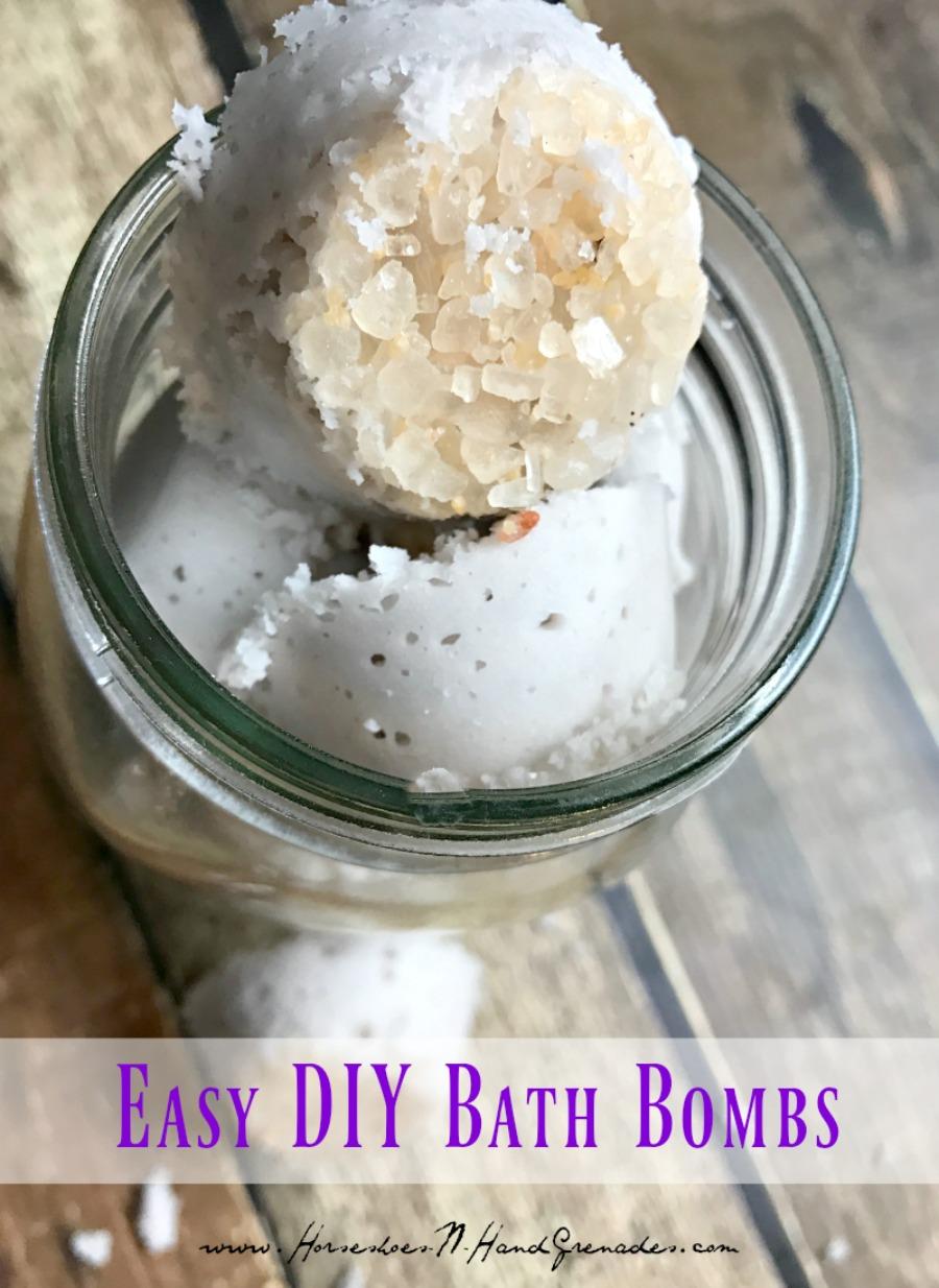 Easy DIY Bath Bombs - Pinterest