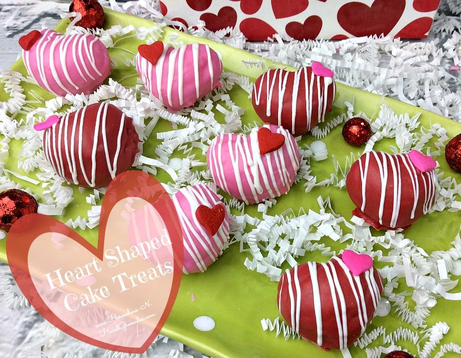 Heart Shaped Cake Treats FB