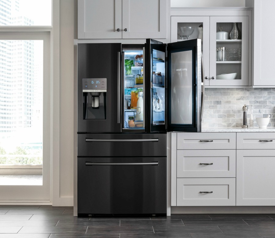 Samsung Refrigerator Remodel