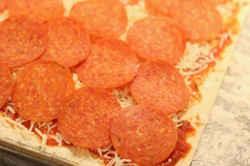 Sauce Cheese Pepperoni