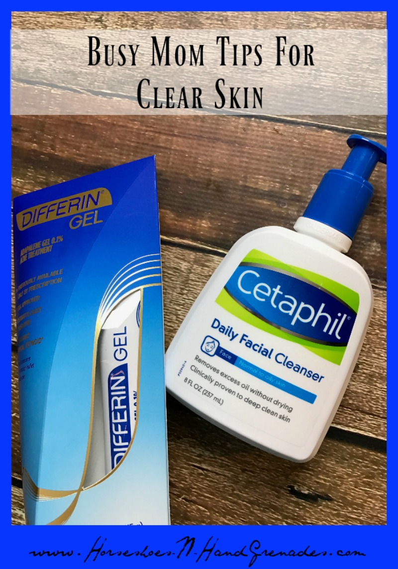 Busy Mom Tips for Clear Skin