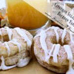 Cinnamon Sugar Doughnuts with Bourbon Vanilla Glaze